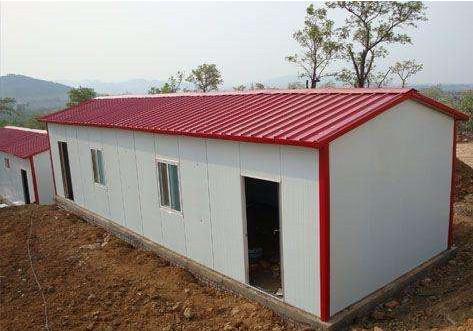 彩钢板活动房施工
